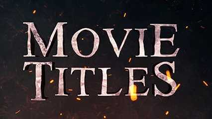 Complete the movie titles