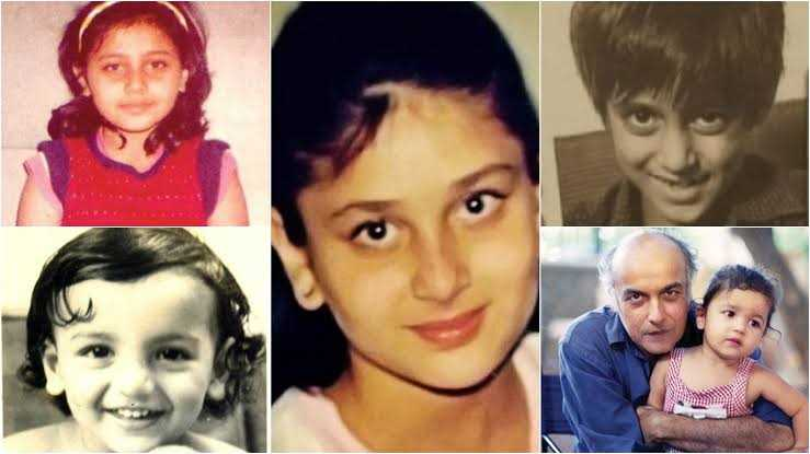 Celebs by childhood snaps!!